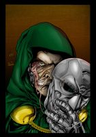 Doom:The Face of Evil colored by wrathofkhan