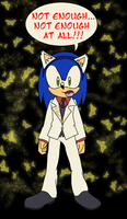 Sonic as Ushiromiya Battler by AishaPachia