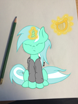 Lyra (Background Pony) by coppercore