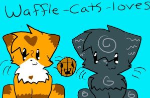 Waffle-cats-loves icon by MistyEm1101