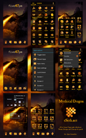 Fire Dragon for Apex Launcher by gseth