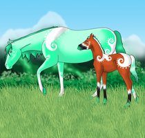 Orich and Pyrefly by RVMStables