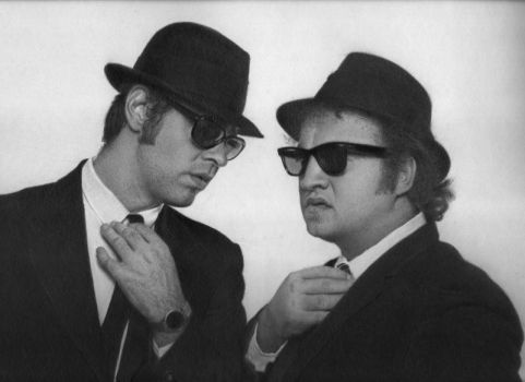Ode to the Blues: Jake and Elwood Blues by yuzu1009