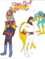 Space Ghost Coast to Coast by iamtherealbender