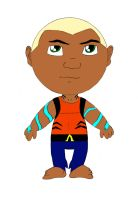 Aqualad (Young Justice) Chibi by hpWiz