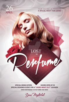 Lost in Perfume - Flyer Template by YczCreative
