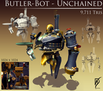 Butler Bot by WooMaster77