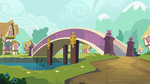 Group Background #12 - A Bridge In Ponyville by MLP-Vector-Collabs