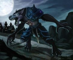 Night of the Worgen by Hidd3nNiN
