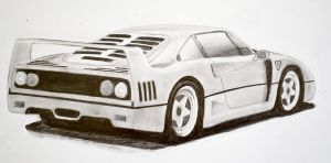 Ferrari F40 by Anths95