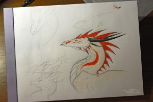 13.07.10 Dragon Rooster by axe-ql