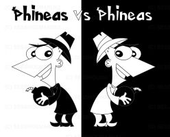 PnF-M - Phineas vs Phineas by TigerBlack62