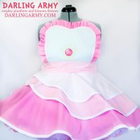 Rose Quartz Steven Universe Cosplay Pinafore Dress by DarlingArmy