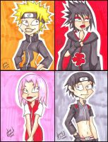 Braceface: Naruto Group by AnimeJanice
