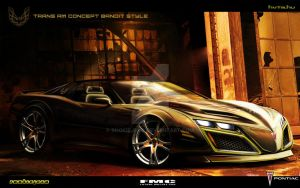 Pontiac Trans Am Bandit style by rookiejeno