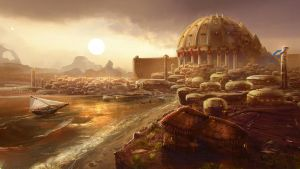 Sanghelios Coastal City by TDSpiral