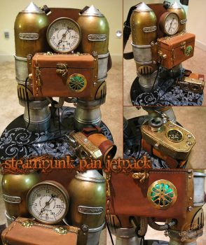 Steampunk Pan Jetpack by furinchime