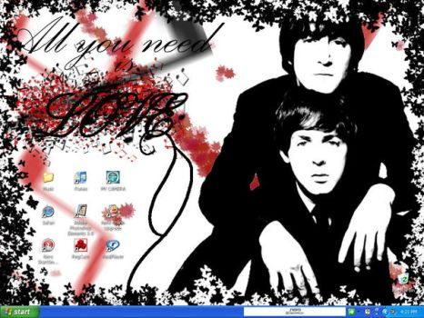 Paul and John by Ywy