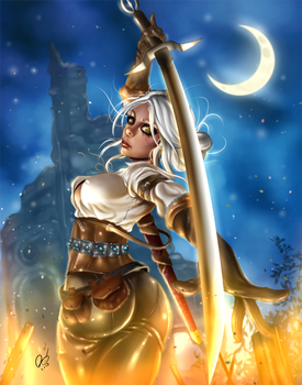 Ciri by BornTewSlow