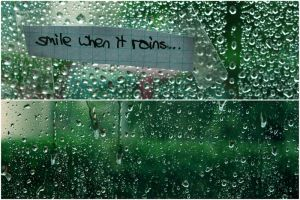 Smile when it rains by alex-Oo