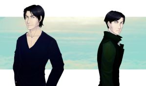 Sirius n Regulus by lady-voldything