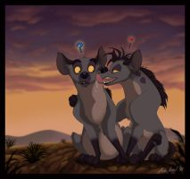 Hyena_Love by Anatoliba