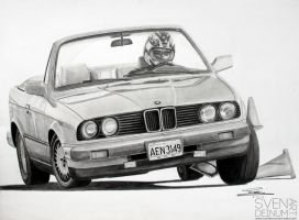 BMW 3 Series (E30) Convertible by SD1-art