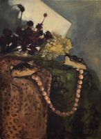 Still Life with Beige Pearls by ordinaryriches