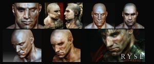Ryse - Behind the face. by Fealasy