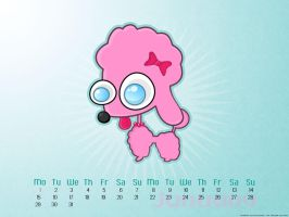 Pink Poodle: January English by Maquita