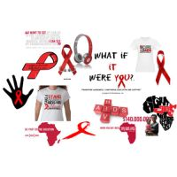 _RED_ HIV+AIDS by BritTuTu