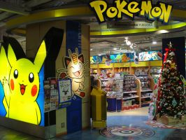 Welcome to the Pokemon Center by KingdomKeyblade