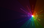 Rainbow Zodiac Background by FalseDisposition