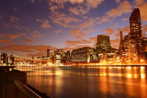 ny skyline by PictureTime