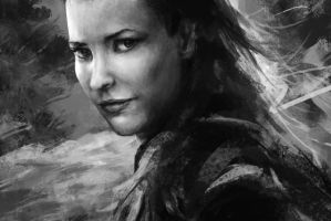 Tauriel (The Hobbit) by FrostwindHD