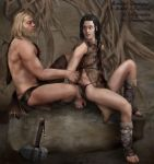 A Moment In Prehistory by EvilConcubine