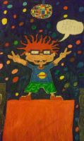 Chuckie Finster (From Rugrats) by JerkyllHyde