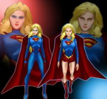Supergirl Returns by IUltrahumanite