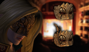 Hellequin Mask for XNALara by RonDoe