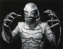 Creature From The Black Lagoon by BruceWhite