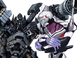 MMD - EVA-Unit 4A reviews DOTM Ironhide by Zeltrax987
