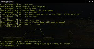 Moo - easter egg by Fenixiie