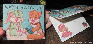 DeviantART Holiday Card Project by MaryBellamy