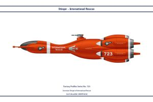 Fantasy 723 Stinger International Rescue by WS-Clave