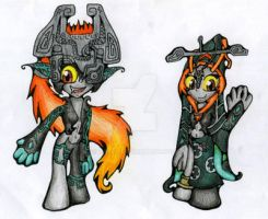 Chibi Midna by Luifex