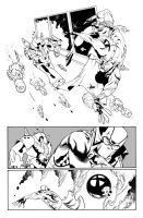 Fantomex MAX, Issue 1, page 2 by Inkpulp