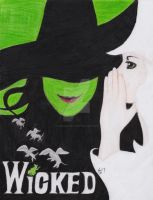 Wicked by AmsAwsomeArt