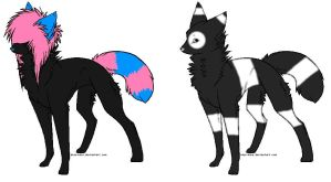 Wolf adopts OPEN by KireiAdopts