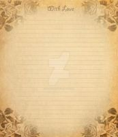 letter paper IV by spidergypsy