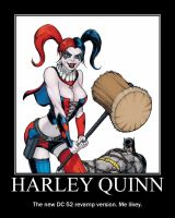 Harley Quinn: New and Improved by Inukee